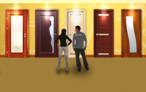 Подредени вътрешни врати